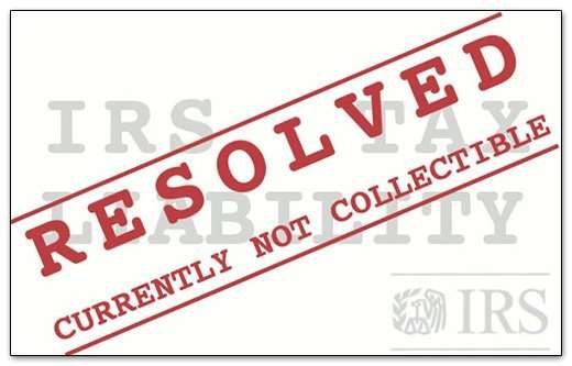 IRS Currently Not Collectible (CNC)