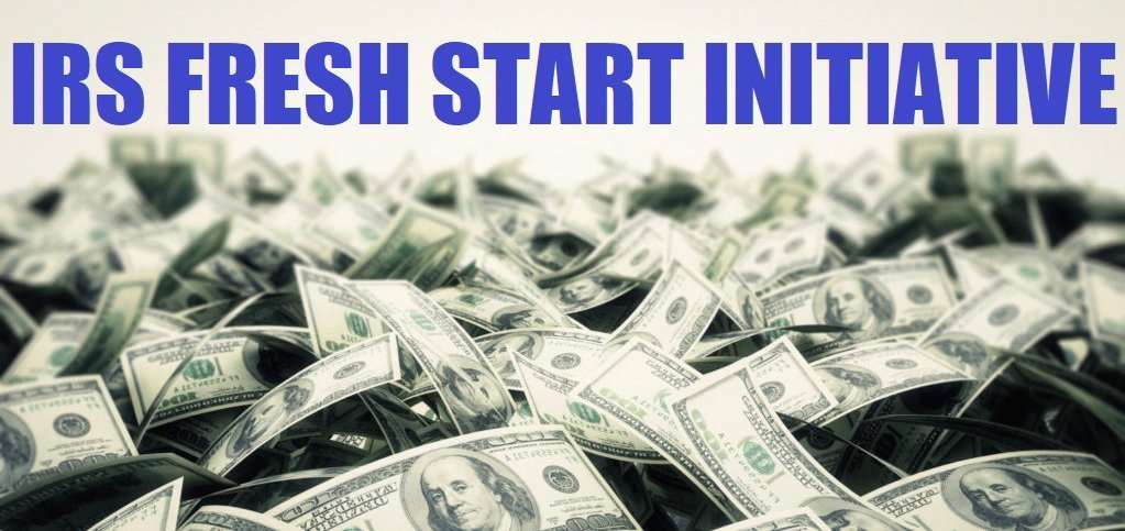 The IRS Fresh Start Program